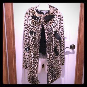 NWOT Nasty Gal Faux Fur Coat